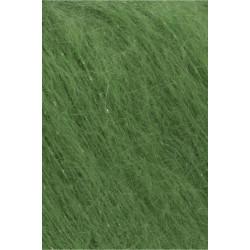Mohair Luxe Lamé, farve 16, sølv/lys grøn