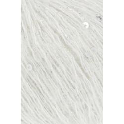 Mohair Fancy, farve 01, hvid