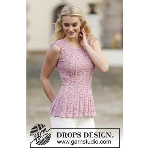 Love Is In The Air by DROPS Design S-XXXL DROPS MUSKAT