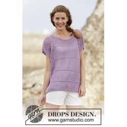 Wonderful Iris by DROPS Design S-XXXL DROPS BIG MERINO