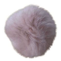 Pompon kanin pudder 40 - 60 mm