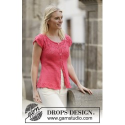 Image of   Call it spring cardigan by drops design s-xxxl drops muskat garn