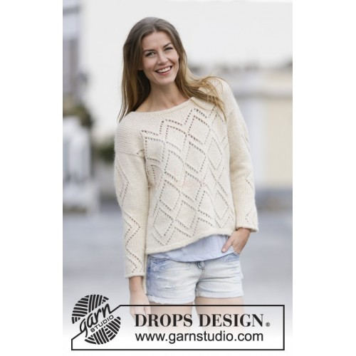 Summer Diamond by DROPS Design S-XXXL DROPS AIR