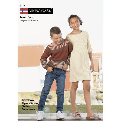GRATIS Viking katalog 2123 - Børn, Viking Bamboo UDEN OPSKRIFTER