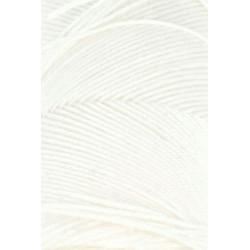 Lang Yarns Jawoll, farve hvid, 45g + 5g forstærkningstråd