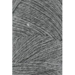 Lang Yarns Jawoll, farve mørkegrå, 45g + 5g forstærkningstråd