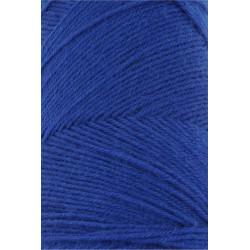 Lang Yarns Jawoll, farve klar blå, 45g + 5g forstærkningstråd