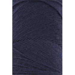 Lang Yarns Jawoll, farve marineblå, 45g + 5g forstærkningstråd