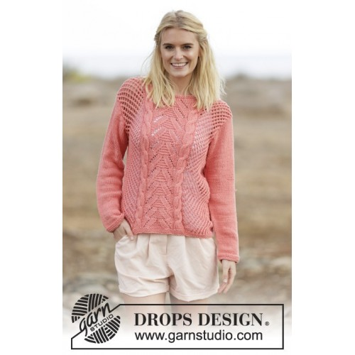 Sweet Peach by DROPS Design S-XXXL DROPS PARIS