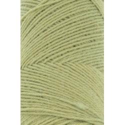 Lang Yarns Jawoll, farve lysegrøn, 45g + 5g forstærkningstråd