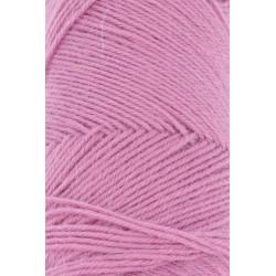 Lang Yarns Jawoll, farve rosa, 45g + 5g forstærkningstråd
