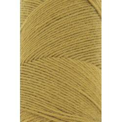 Lang Yarns Jawoll, farve karrygul, 45g + 5g forstærkningstråd