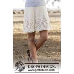 White Diamond by DROPS Design S-XXXL DROPS MUSKAT