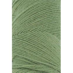 Lang Yarns Jawoll, farve græsgrøn, 45g + 5g forstærkningstråd