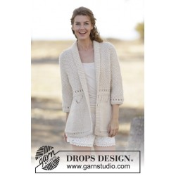 Image of   After eight by drops design s-xxxl drops cloud garn cardigan