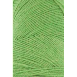 Lang Yarns Jawoll, farve klar grøn, 45g + 5g forstærkningstråd