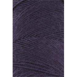 Lang Yarns Jawoll, farve mørk violet, 45g + 5g forstærkningstråd