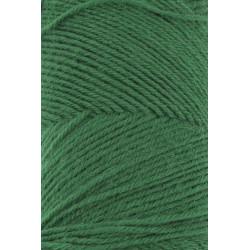 Lang Yarns Jawoll, farve dyb grøn, 45g + 5g forstærkningstråd