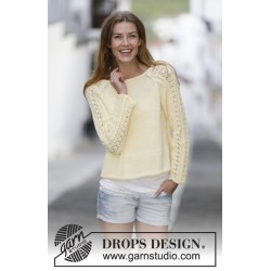 Image of   Angela by drops design s-xxxl drops muskat garn bluse