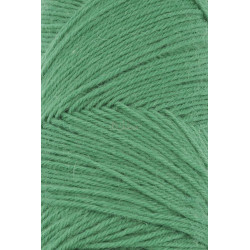 Lang Yarns Jawoll, farve grøn, 45g + 5g forstærkningstråd