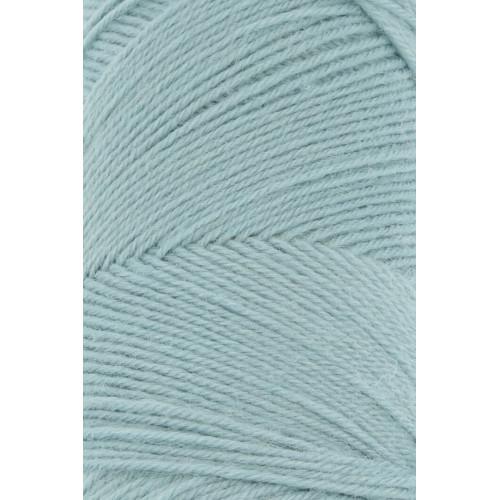 Lang Yarns Jawoll, farve lys søgrøn, 50g + 5g forstrækningstråd