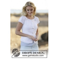 Image of   Esther cardigan by drops design s-xxxl drops muskat garn strikkekits