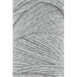 Jawoll, farve mellemgrå, 45g + 5g forstærkningstråd