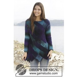 Image of   Harlequin dreams by drops design s-xxxl drops delight garn bluse