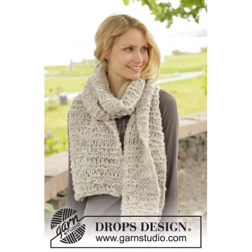 Hug by DROPS Design One-size DROPS ALPACA BOUCLÉ