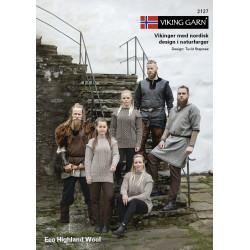 GRATIS Viking katalog 2127 - Damer og Herrer, Viking Eco Highland Wool UDEN OPSKRIFTER