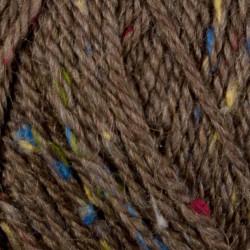 Viking Alpaca Picasso Tweed. Farve 908, Brun