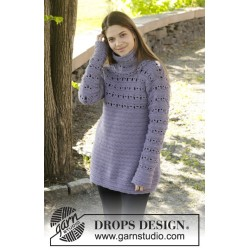Lavender touch by drops design s-xxxl drops nepal garn bluse