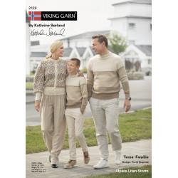 GRATIS Viking katalog 2129 - Familie, Viking Alpaca Lille Storm UDEN OPSKRIFTER