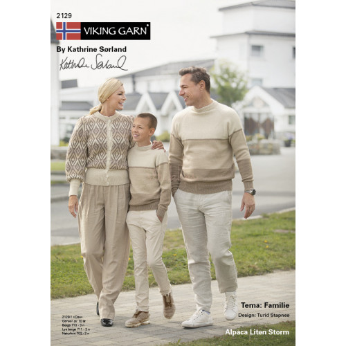 Viking katalog 2129 - Familie, Viking Alpaca Lille Storm