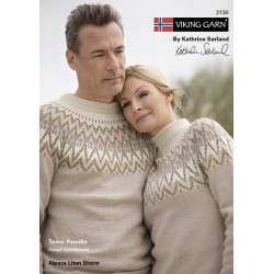 Viking katalog 2130 - Familie, Viking Alpaca Lille Storm