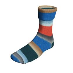Lang Yarns Twin Soxx, Colorful: Peru 315, 100g