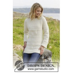 Image of   Elinor dashwood by drops design s-xxxl drops alaska garn bluse