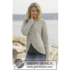 Image of   Enchanted by drops design s-xxxl drops nepal garn cardigan