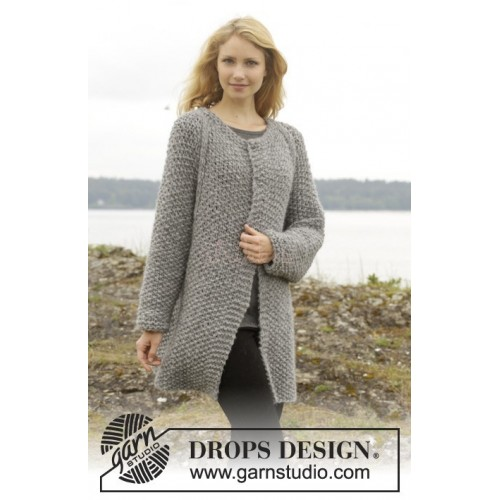 Day After Day Cardigan by DROPS Design S-XXXL DROPS CLOUD