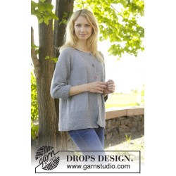 Come Here Cardigan by DROPS Design S-XXXL DROPS COTTON MERINO