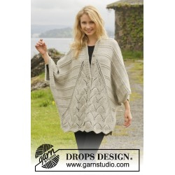Image of   Ripple tide by drops design s-xxxl drops nepal garn strikkekits