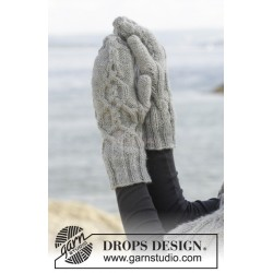 Kara Mittens by DROPS Design One-size DROPS KARISMA