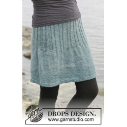 Angel Falls Skirt by DROPS Design S-XXXL DROPS KARISMA