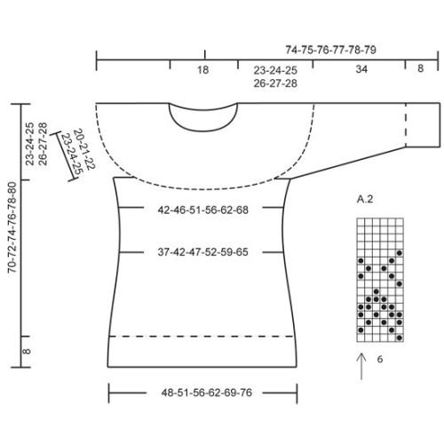 Eir by DROPS Design S-XXXL DROPS NEPAL