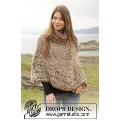 Sands of Time by DROPS Design S-XXL DROPS ALPACA BOUCLÉ