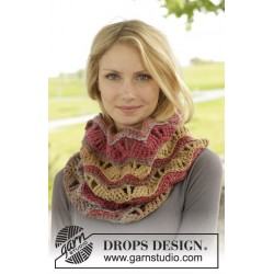 Image of   Autumn waves by drops design one-size drops big delight garn