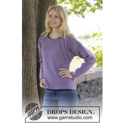 Image of   Grapevine by drops design s-xxxl drops karisma garn bluse