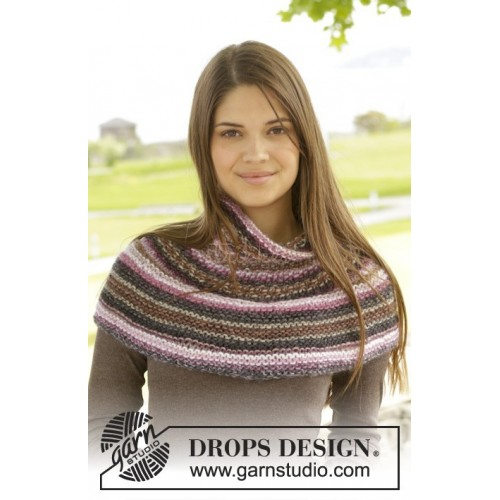 Canyon Rose by DROPS Design S-XXXL. DROPS BIG DELIGHT