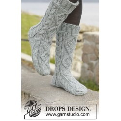 Image of   Walk with me by drops design 35-43 drops nepal garn strikkekits