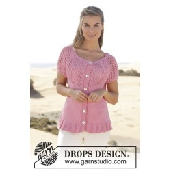 Image of   Desert rose jacket by drops design s-xxxl drops paris garn cardigan